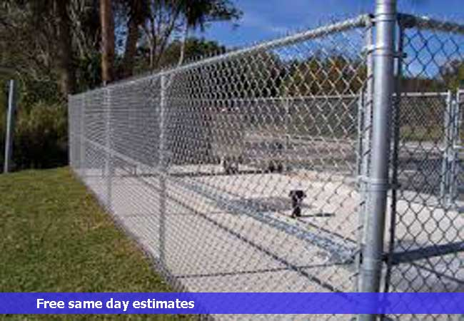 Commercial Chain Link Security Enclosures ...