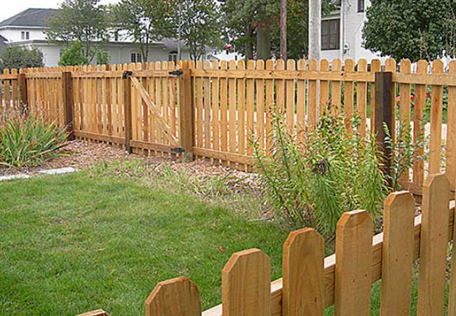 Wood Fencing Picket Privacy Gates All4fencing
